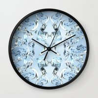 crystals Wall Clocks featuring Crystals by Armin