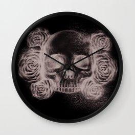 SKULLA ROSETTA B/W Wall Clock