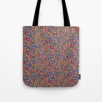 mosaic Tote Bags featuring Mosaic by Juliana Kroscen