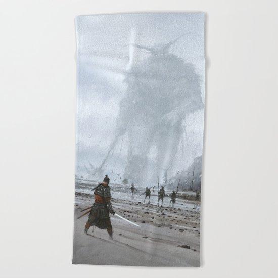 stranger in a strange land Beach Towel