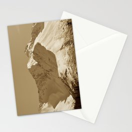 Majestic Mountain - Sepia Stationery Cards