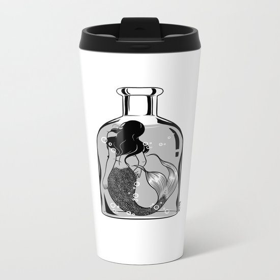 Wish I could be part of your world Metal Travel Mug
