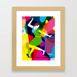 Tap Dancer Like No Other Framed Art Print
