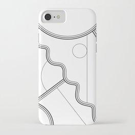 White Magic II iPhone Case
