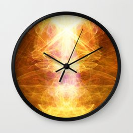 *TAP INTO UNIVERSAL ENERGY *reposting for Greeting Card addition Wall Clock