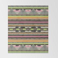 DG Aztec No. 2 Throw Blanket