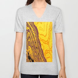 from yellow dunes to ugly shore Unisex V-Neck