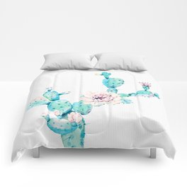Desert Cactus Rose Comforters