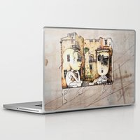 kids Laptop & iPad Skins featuring Kids by Andreas Derebucha
