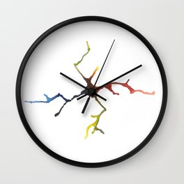 Catch My Spill Wall Clock