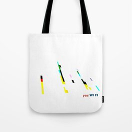 YES WI FI Tote Bag