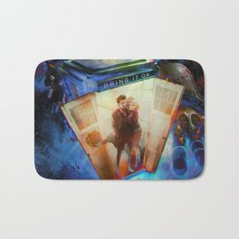 Doctor WHO : BRING IT ON ! Bath Mat