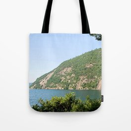 Roger's Rock on Lake George, NY Tote Bag