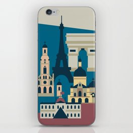Paris - Cities collection  iPhone Skin