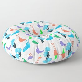 Slug Pattern Floor Pillow