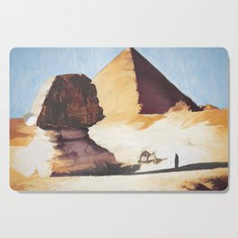 The Great Sphinx And Pyramid Cutting Board