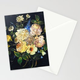 Vintage Flowers 2 Stationery Cards