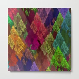 Conifers Metal Print