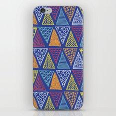 Doodle Geometric Triangles iPhone & iPod Skin