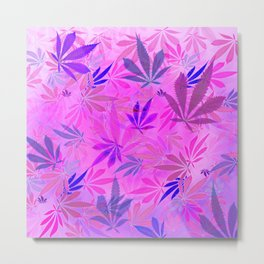 Pink and Purp by Wetpaint420 Metal Print