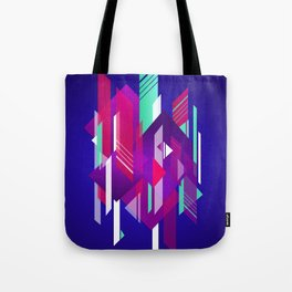 Shattered and Stained Tote Bag