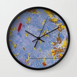Blue Jungle Wall Clock