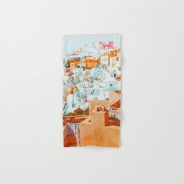 Santorini Vacay #photography #greece #travel Hand & Bath Towel