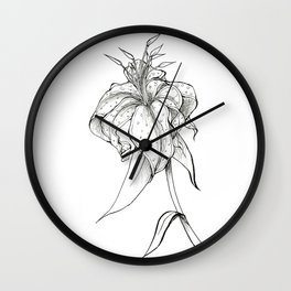 Lilie Wall Clock