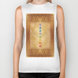 Chakras Kali | Beyond the time  Biker Tank