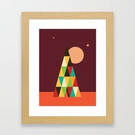 Patterned 7B Framed Art Print