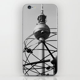 Berlin World Clock iPhone Skin
