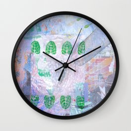 S++ Angel rice up and down Wall Clock