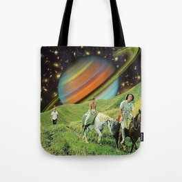 Starry Burst Tote Bag