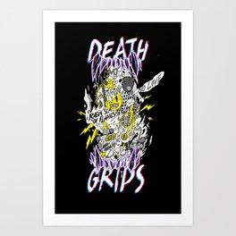 death grips tribute Art Print