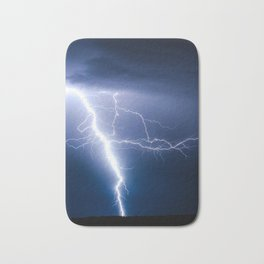 Lightning Strike Bath Mat