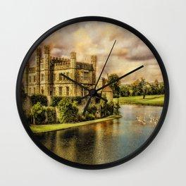 "Leeds Castle ""Paintography"" Wall Clock"