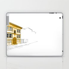 Yellow San Francisco Haus Laptop & iPad Skin