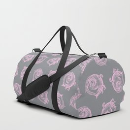 Royal Gator - Rose on Ash Duffle Bag