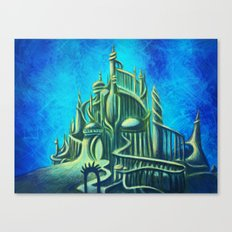 Mysterious Fathoms Below Canvas Print