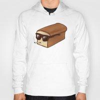 bread Hoodies featuring Cool Bread by Josh LaFayette