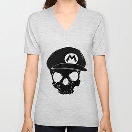 Mario fan til I die Unisex V-Neck