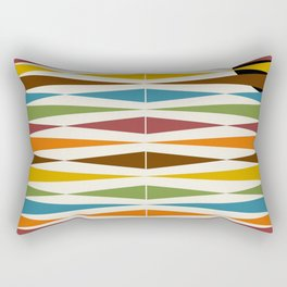 Mid-Century Modern Art 1.4 Rectangular Pillow