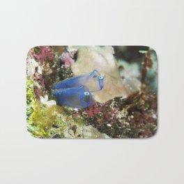 Blue Sea Squirt Bath Mat