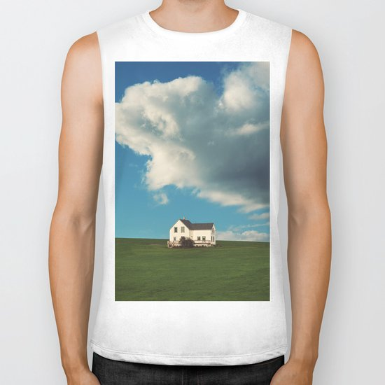 House on the Hill Biker Tank