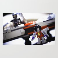 transformers Area & Throw Rugs featuring Kre-o Transformers by TJAguilar Photos