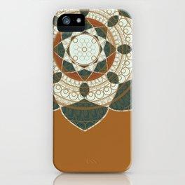 Hena Flower iPhone Case