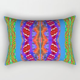 Them Dreamtime Snakes Again No. 4 Rectangular Pillow
