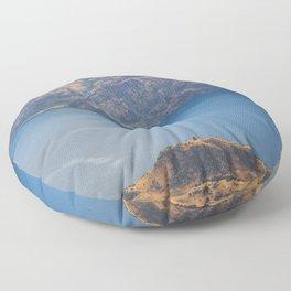 Roys Peak Lookout 1 Floor Pillow