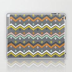 Blanket Stripe grey Laptop & iPad Skin