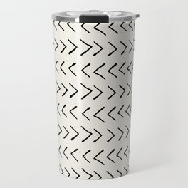 Arrows on Alabaster Travel Mug